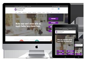 mortgage website homepage