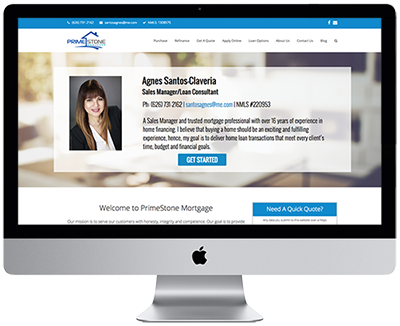 Loan Officer Website