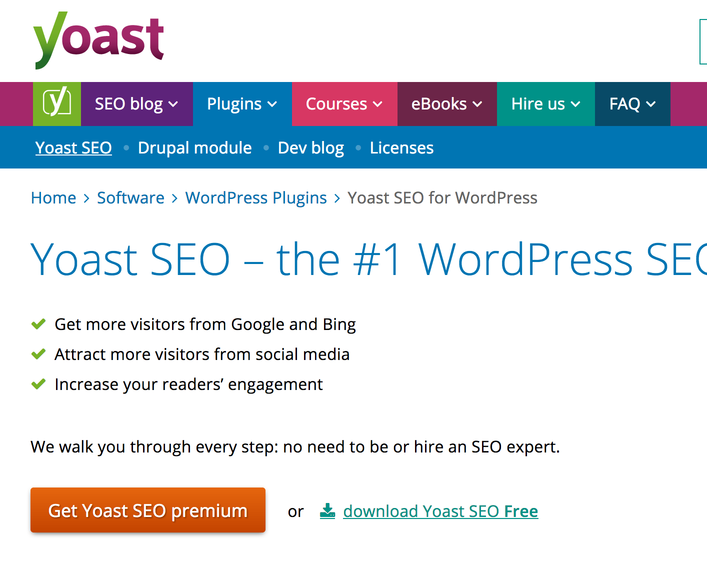 Yoast SEO Premium for my mortgage website