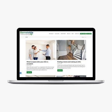 Blog content service