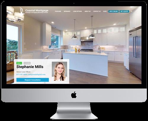 Loan Officer Websites by Vonk Digital