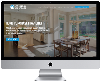 Mortgage Website by Vonk Digital