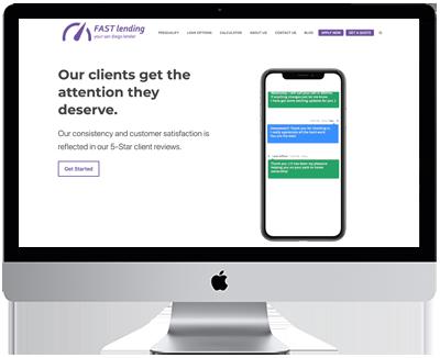 Mortgage Website by Vonk Digital