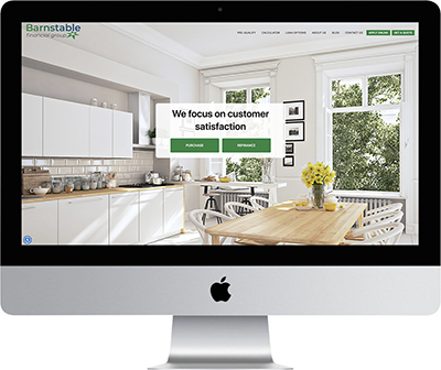 Mortgage Websites by Vonk Digital