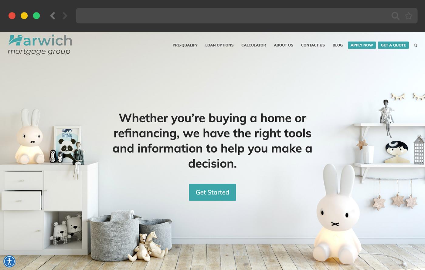 mortgage website